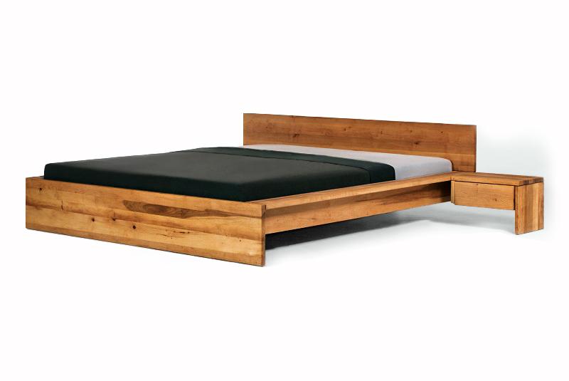 designerbett fidenza 160x200 massivholz bett in erle massiv doppelbett ebay. Black Bedroom Furniture Sets. Home Design Ideas